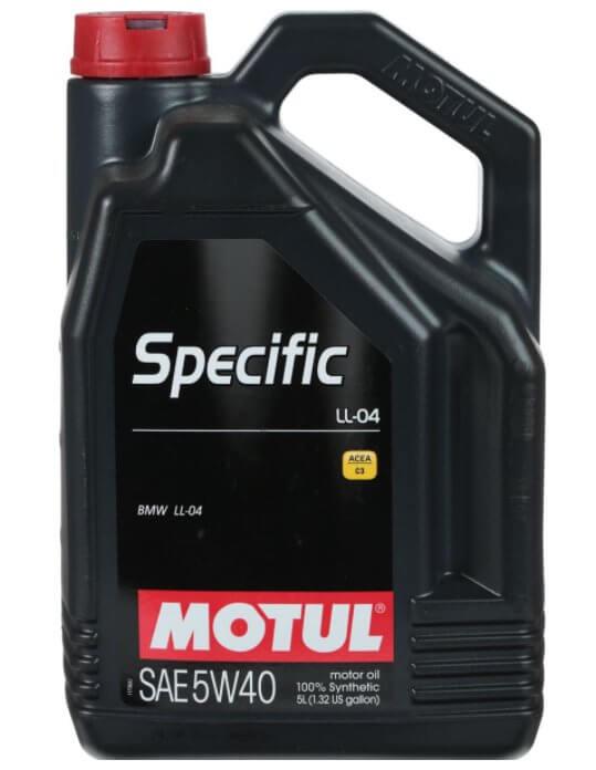 Motul Specific BMW LL-04, синтетическое, 5W-40, 5 л