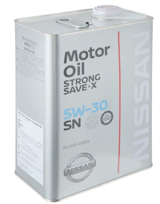 Nissan Strong Save X 5W-30, 4 л