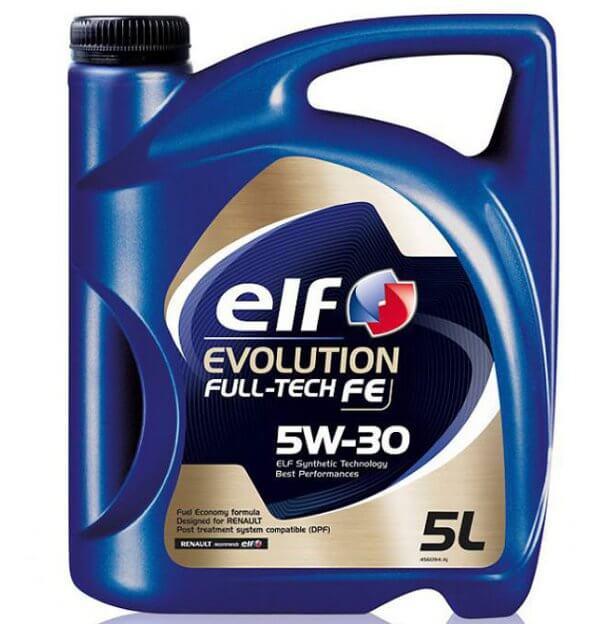 Elf Evolution Full-Tech FE, 5W-30 5 л