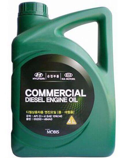 HYUNDAI Commercial Diesel SAE 10W-40 CI-4, 4 л