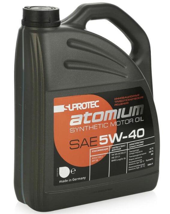 Suprotec Atomium 5W-40 4 л