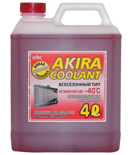 AKIRA LLC Красный -40 4 л