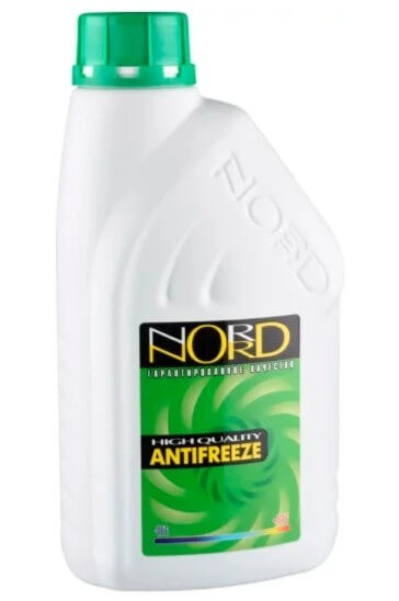 Антифриз NORD Зеленый, 1 кг