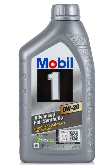 масло MOBIL 1 0W-20 1 л