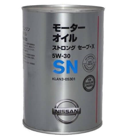 масло Nissan SN Strong Save X 5W-30 1 л