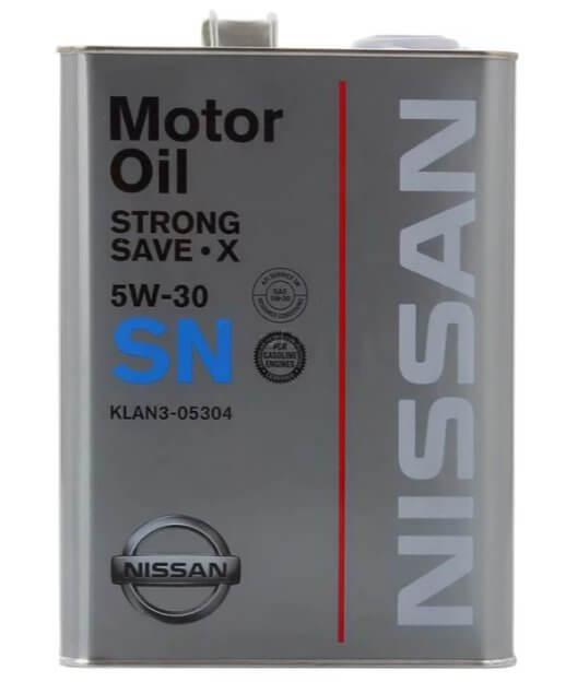масло Nissan SN Strong Save X 5W-30 4 л