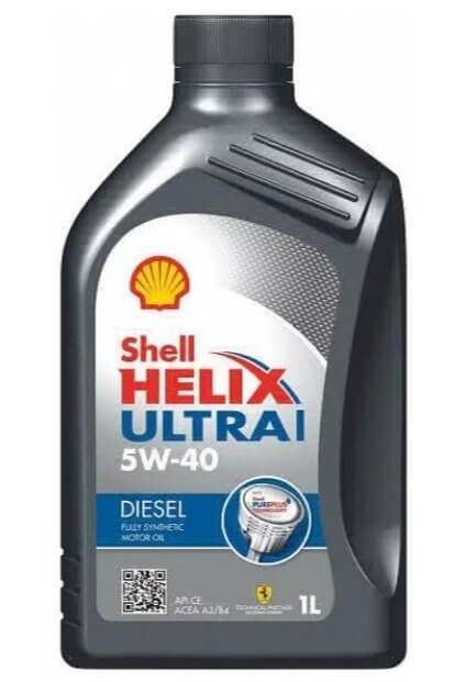 масло SHELL Helix Ultra Diesel L 5W-40 1 л
