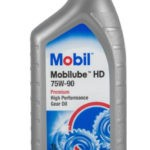 масло MOBIL Mobilube HD 75W-90 1 л