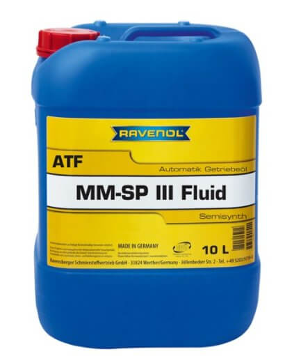 масло RAVENOL ATF MM SP-III Fluid 10 л