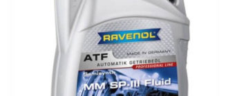RAVENOL ATF MM SP-III Fluid 4 л