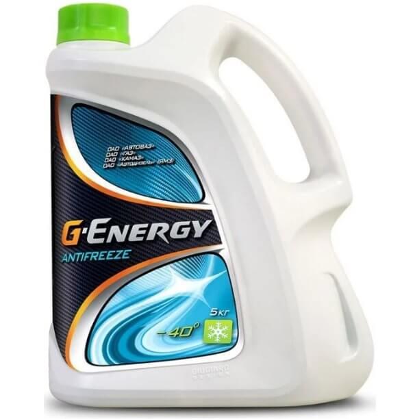 GAZPROMNEFT G-Energy Antifreeze -40, 5 кг