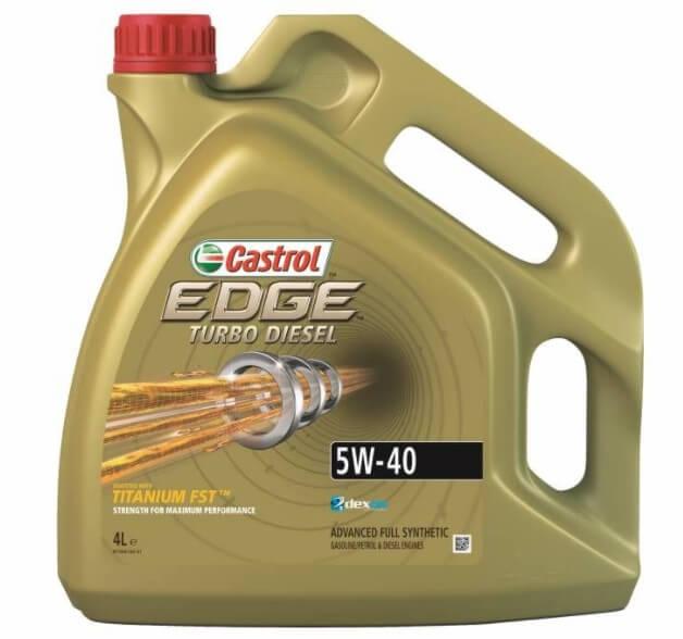 CASTROL EDGE Turbo Diesel 5W-40, 4 л