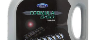 масло FORD Formula S/SD 5W-40 5 л