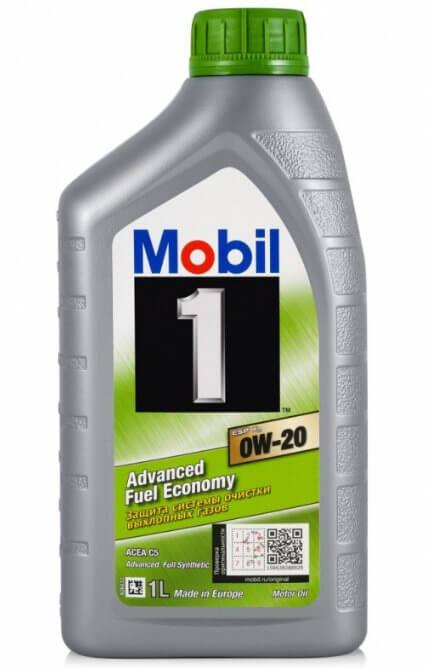 масло MOBIL 1 ESP x2 0W-20 1 л