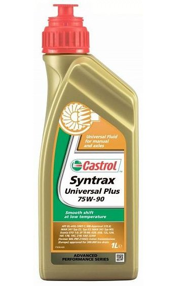 масло Castrol Syntrax Universal Plus 75W-90, 1 л