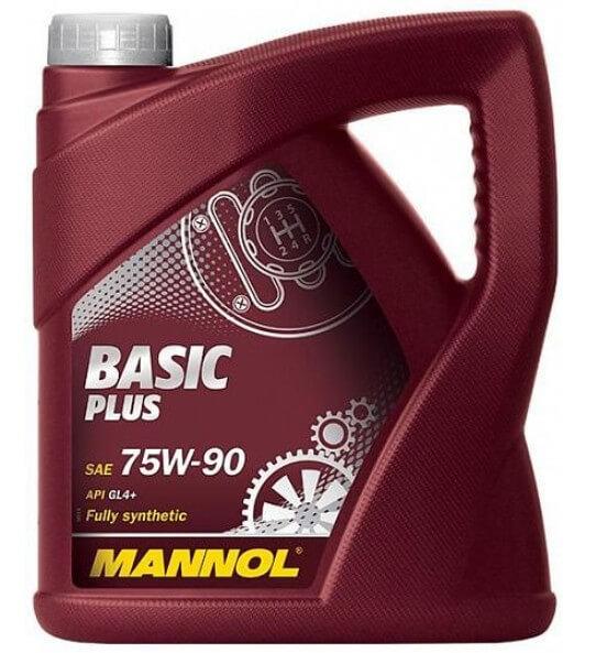 масло MANNOL Basic Plus 75W-90 4 л