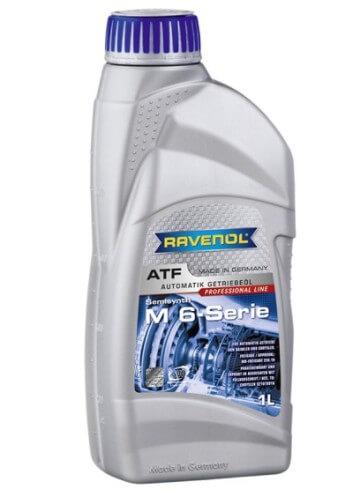 масло RAVENOL ATF MB 6-Serie, 1 л