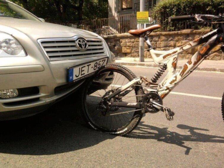 Велосипед автомобили