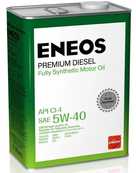 масло ENEOS Premium Diesel CI-4 5W-40 4 л