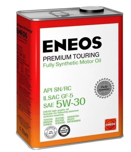 масло ENEOS Premium Touring SN 5W-30 4 л