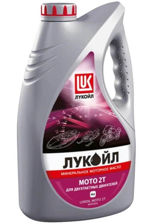 масло ЛУКОЙЛ Мото 2Т 4 л