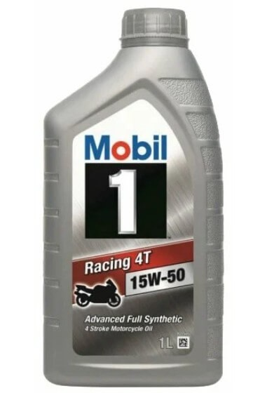 масло MOBIL 1 Racing 4T 15W-50 1 л