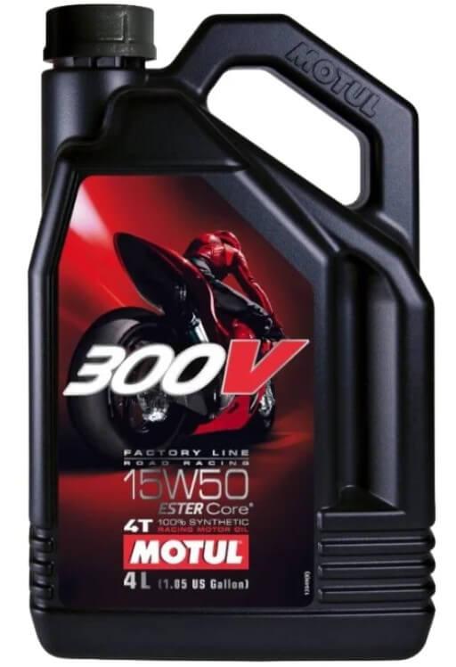 масло Motul 300V Factory Line Road Racing 15W50 4 л