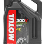 масло Motul 300V Factory Line Road Racing 5W40 4 л