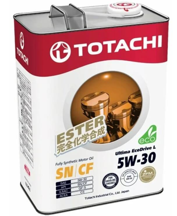масло TOTACHI Ultima Ecodrive L 5W-30 4 л