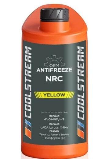 CoolStream NRC, CS-010401, желтый, 1 л
