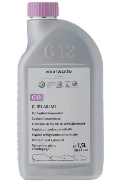 Антифриз концентрированный лиловый Volkswagen G13