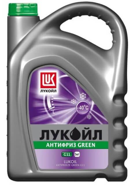 Лукойл Green G11 готовый зелёный 5 кг