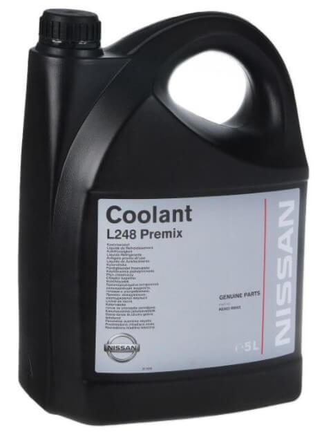 Nissan Coolant L 248 Premix 5 л