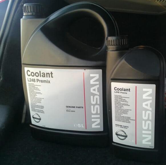 NISSAN Coolant L248 Premix 1 и 5 л