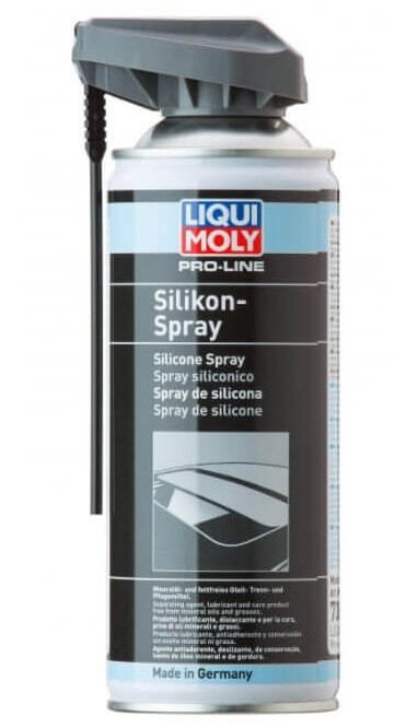 смазка-силикон LIQUI MOLY Pro-Line Silikon-Spray 0.4 л
