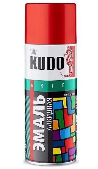 Эмаль черная матовая KUDO KU-1102 0,52 л