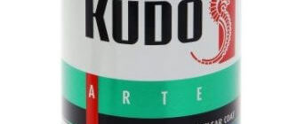 Акриловый лак KUDO KU-9002, 520 мл