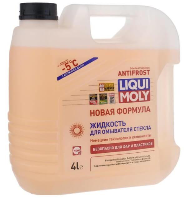 LIQUI MOLY KRISTALLGLAS Scheiben-Reiniger -5°С 4 л