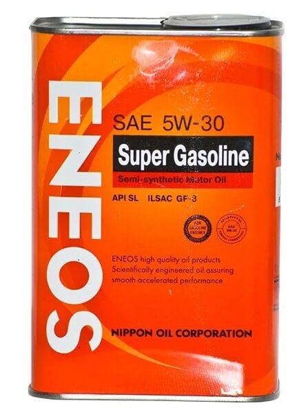 масло ENEOS Super Gasoline SL 5W-30 4 л