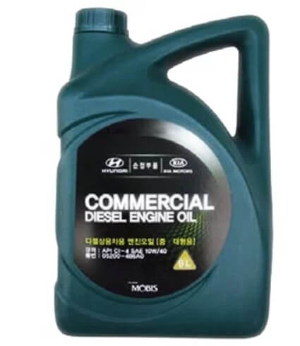 масло MOBIS Commercial Diesel 10W-40 6 л
