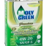 масло MolyGreen Premium Earth 0W-20 4 л