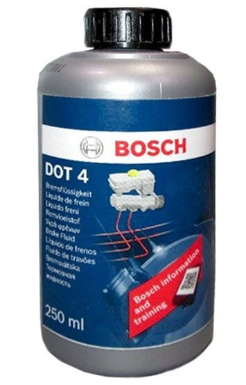 BOSCH DOT 4, Brake Fluid 0,25 л
