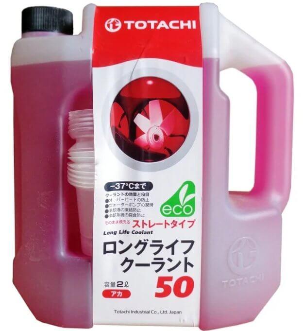 Антифриз TOTACHI Long Life Coolant 50 Red