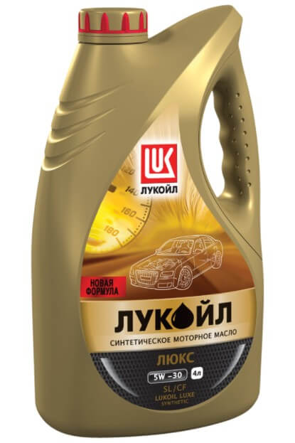 Лукойл Люкс 5W-30, 4 л