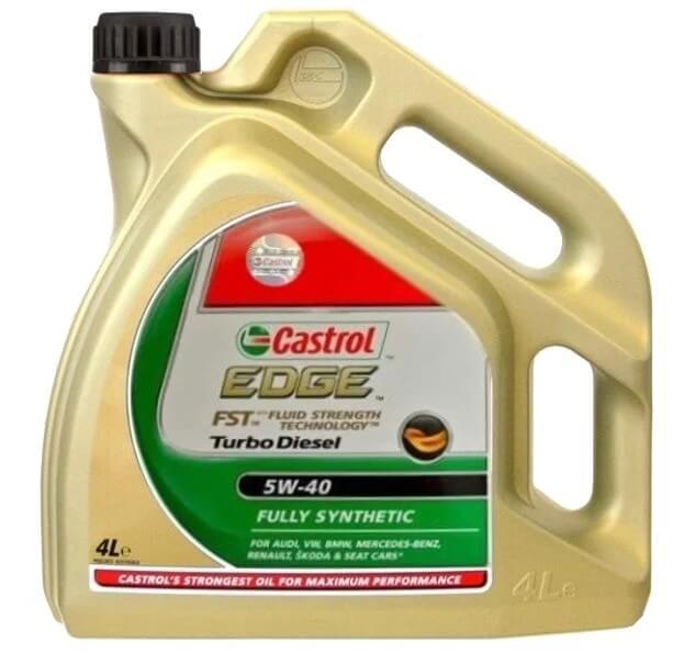 масло Castrol Edge Turbo Diesel 5W-40 4 л