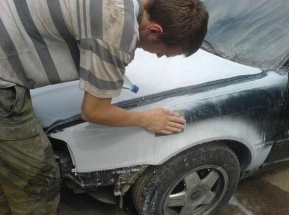 Как покрасить автомобиль своими руками, руководство
