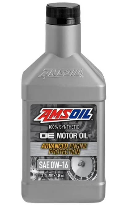 масло AMSOIL OE Synthetic Motor Oil 0W-16 0.946 л