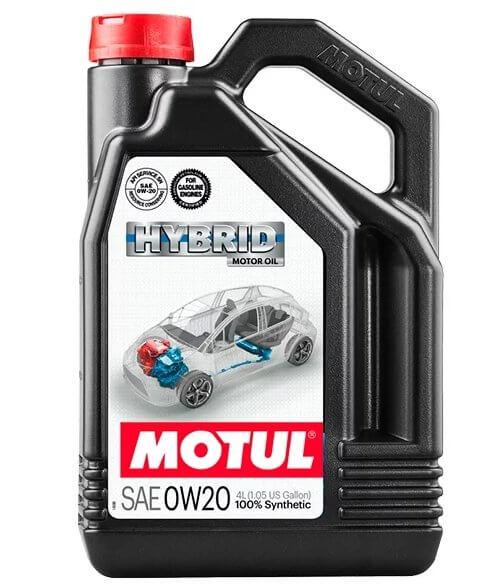 Новинки моторных масел — масло Motul Hybrid 0W-20 4 л