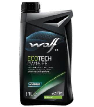 масло WOLF Ecotech 0W-16 FE, 1 л