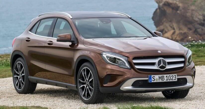Какое масло заливать в Mercedes GLA